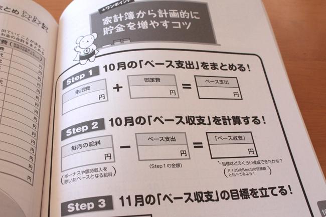 家計ノート 集計ページ2