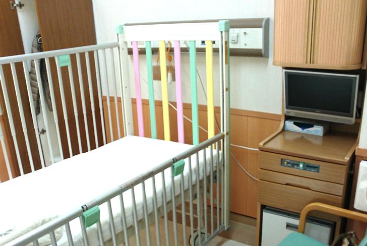 子どもの病室