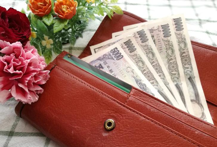 お財布いっぱいのお金